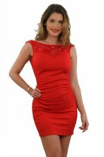 BELLE ROBE SEXY ROUGE MARQUE SPAZM TAILLE S/M 36 / 38 neuve SOUS BLISTER
