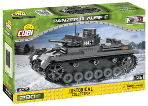 Cobi 2707 (290pcs) 1:48 Scale - German Panzer III Ausf. E Tank - Building Blocks
