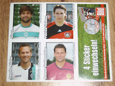 Sammelkarten Fußball Bundesliga 2008 2009 Weltweit Europaweit Panini Sticker neu