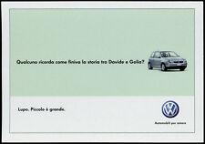 cartolina pubblicitaria PROMOCARD n.4213 VOLKSWAGEN AUTOMOBILI