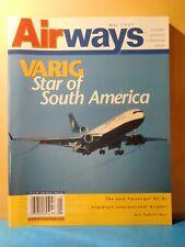 Airways Magazine 2001 May VARIG Star of South America