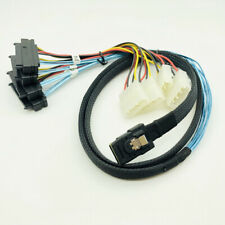 Internal Mini SAS 4i SFF-8087 to SAS 4x SFF-8482 Hard Disk SAS Cable Molex 4Pin