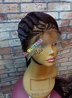 Handmade African Braided Cornrow Ghana wrapping wigs