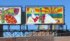 """1969 21'x10' 7Up UnCola """"# Un In The Sun"""" vintage Billboard Poster by Pat Dypold"""