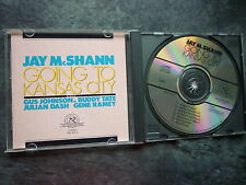JAY McSHANN GOING TO KANSAS CITY CD ALBUM 1987 NO BARCODE MADE IN USA NW 358-2