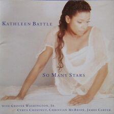 KATHLEEN BATTLE - SO MANY STARS CD