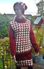 Norweger***Pullover aus Islandwolle**S/M**Hahnentritt**Unikat**Handmade