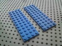 Lego Plate 4x12 [3029] Blue x1