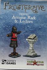 Frostgrave: Armor Rack & Lectern NEW