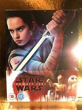 STEELBOOK Blu-ray 2D/3D Star Wars 8 [ Edition Zavvi ] Titre Sur Tranche