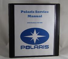 Service Manual for 2008 Polaris  Outlaw 525 IRS