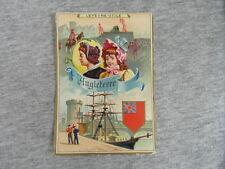 1 x CHROMO trade card LU LEFEVRE-UTILE Lito LAAS ANGLETERRE ENGLAND