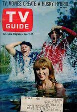 1966 TV Guide June 11- Gilligan's Island; Sheila Forbes of Hullabaloo models mod