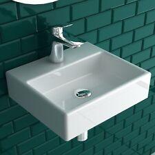 Keramik Handwaschbecken 33 x 28,5cm  für Gäste-WC Keramik Waschtisch Mini Design