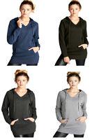 Womens Raglan Long Sleeve Pullover Hoodie V Neck Cotton Sweater