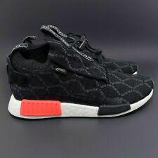 Adidas NMD TS1 PK GTX Primeknit Gore-Tex Black Red Sneaker Men 7.5 BD8078