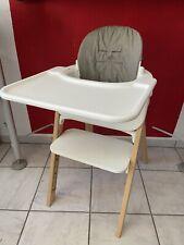STOKKE STEPS Hochstuhl + Babyset + Tray + Cushion komplett Natur
