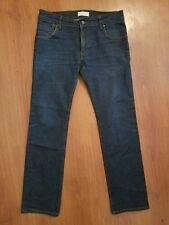 Zara Man Jeans size 31 x 28.5 Dark Wash Stretch