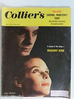 Collier's Magazine - April 13, 1956  GREAT ADS