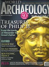 CURRENT WORLD ARCHAEOLOGY MAGAZINE, DEC,2011 / JAN, 2012 (TREASURES OF PHILIP II