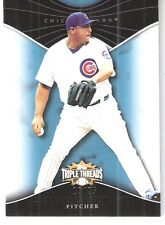 2010 Topps Heritage Triple Threads Sapphire Carlos Zambrano #99 Cubs/Marlins #'d