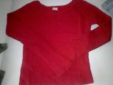 *Bershka ( Grupo Zara ) , Sueter Rojo muy favorecedor !!  Talla M / T SHIRT Top