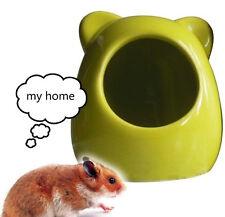 Ceramic Hamster nest/Cool house for Hamster/blue,orange,green