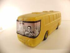 autobus BUS Adventure TUR en plastique soufflé 36 cm ancien vintage plastic toy