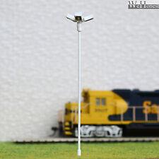 lot 4 Modèle Train Lampadaire HO projecteur à LED éclairage place lumière #014