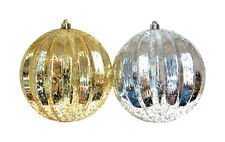 NEW! GREENFIELDS Shatterproof Mercury Ball Ornament 2-Pack! 2140E0435AC2