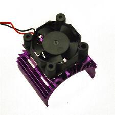 RC EP Electric 1/10 Car 540 Motor Upgrade Alloy Heat Sink W/ Fan Heatsink Purple