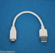 """4"""" 0.1M 10cm SHORT USB 2.0 Type A to Type C Data Charger Cable WHITE for LG G5"""