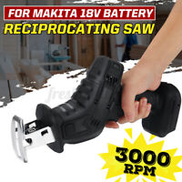 Replacement Cordless Reciprocating Black Saw Body Only For Makita 18V Battery