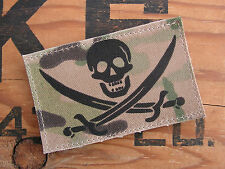 Snake Patch - CALICO JACK - multicam US navy seal PIRATE usa MERCENARY COS