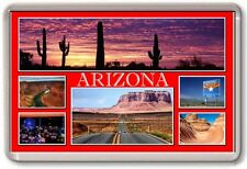FRIDGE MAGNET - ARIZONA - Large - USA America TOURIST