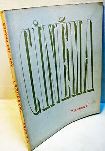 """RARE REVUE de luxe """"MASQUE"""" -spécial CINEM A-1947- N°4640  - 92 PAGES -Cannes 46"""