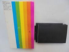 Vintage Rainbow Polaroid Land Pack Film Holder Model 405 & Box