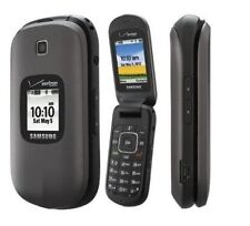 NEW SAMSUNG SCH-U365 Gusto 2 Charcoal Gray Verizon Phone