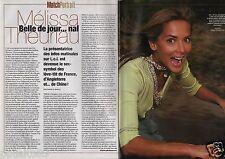 Coupure de presse Clipping 2005 Mélissa Theuriau  (2 pages)