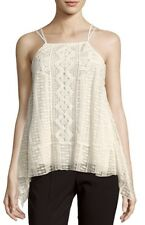 NWT $275 ALICE + OLIVIA Women's Small 'Ravenna' Embroidered Halter Top C1162