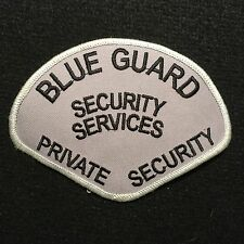 Blue Guard Private Security Services Officer Patch