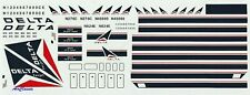 Decals: 1/144 Douglas DC-8-51/61/71 Delta by Flight Path