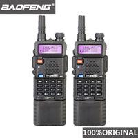 2pcs Baofeng UV-5R 3800 MAh Long Range Walkie Talkie 10KM Dual Band UHF&VHF UV5R