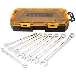 NEW DEWALT DWMT73810 8 Piece Metric Combination Wrench Set WITH CASE 7515117
