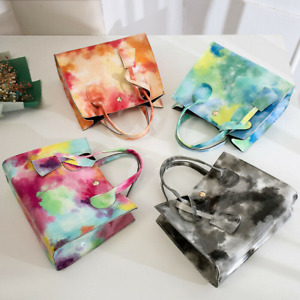 Fashion Women Tie-Dye Print Chains All-Matched HandBags Ladies Party Casual Bags