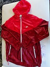 NEW Nike Men WIND RUNNER Hoodie FIRE RED +RARE+ SZ L MENS ACG Tech Fleece