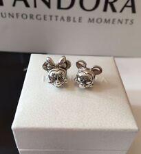 Plata Pandora Disney Mickey Y Minnie Mouse par encantos S925 * PVP £ 70