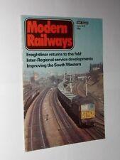 Modern Railways Rail Transportation Magazines in English