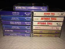 huge Jethro Tull lot of 14 cassettes