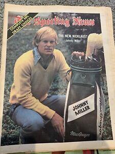Sporting News February 16 1974 2/16/74 Johnny Miller PGA Golf NFL Draft